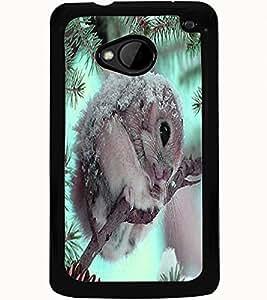 ColourCraft Cute squirrel Design Back Case Cover for HTC ONE M7
