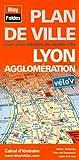 echange, troc Blay-Foldex - Plan de Lyon et de son agglomération - Avec localisation des stations Vélo'v