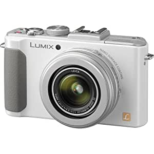 Panasonic LUMIX DMC-LX7W 10.1 MP Digital Camera with 7.5x Intelligent zoom and 3.0-inch LCD - White