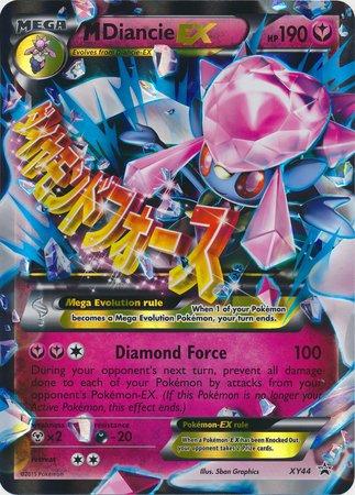 Pokemon - Mega-Diancie-EX (XY44) - Pokemon Oversized Promos - Holo