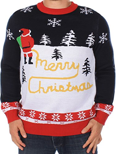 Ugly Christmas Sweater - Yellow Snow Sweater by Tipsy Elves