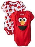 Sesame Street Baby-Boys Elmo 2 Pack Bodysuit
