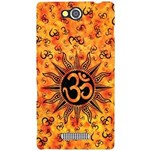 Printland Om Phone Cover For Sony Xperia C
