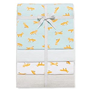 Carters 4-Pack Receiving Blankets Color