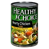 51zvNEO5hsL. SL160  Healthy Choice Hearty Chicken Soup, 15 Ounce Cans (Pack of 12)