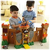 Fisher-Price Imaginext Eagle Talon Castle Playset (Age: 3 Years And Up)The Castle Unfolds To Over Three Feet So...