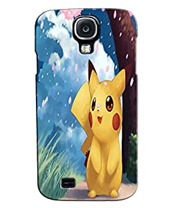 EU4IA Cute Pokemon Pattern MATTE FINISH 3D Back Cover Case For SAMSUNG GALAXY...