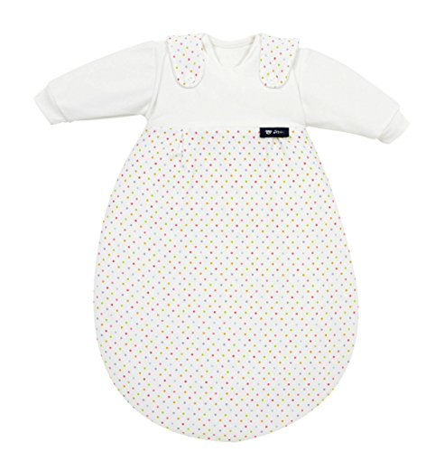 alvi-baby-maxchen-baby-sleeping-bag-3-piece-set-colourful-dots