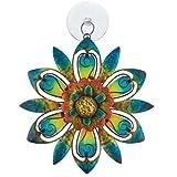 Regal Art and Gift Sun Catcher, Blue Flower