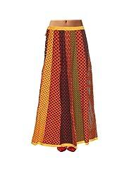Sttoffa Womens Cotton Skirts -Multi-Colour -Free Size - B00MJO73X2