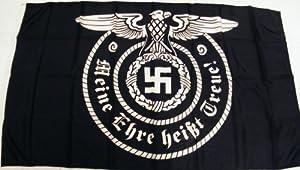 """Amazon.com : """"Meine Ehre heisst Treue"""" SS Flagge III Reich : Patio"""