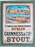 Guinness Dublin Brewery New Metal Advertising Sign - Approx 15 x 11 Inches (39 x 29 cms)