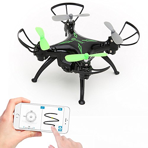 Contixo-F3-Worlds-Easiest-App-Track-Controlled-Mini-Drone-with-720P-HD-WiFi-Camera-24GHz-4CH-6-Axis-Gyro-RC-Quadcopter-Gravity-Sensor-One-Key-Landing-Takeoff-2-Bonus-Batteries-Included