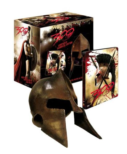 300 (mit Helm, im Steelbook) [Limited Collector's Edition] [2 DVDs] [Limited Edition]