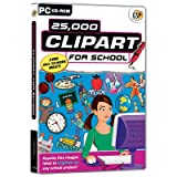 Software - GSP 25,000 Clipart for School (PC)