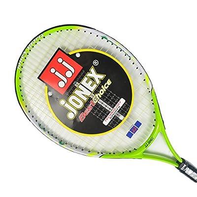 Jonex Junior Groovy 23 Power Tennis Racquet LimeGreen,White