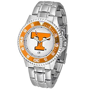Tennessee Volunteers NCAA Competitor Mens Watch (Metal Band) by SunTime