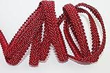 Posamentenborte bordo 5m 10mm breit Borte