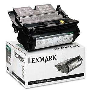 Lexmark International LEX12A6830 Print Cartridge- Return Program- 7500 Page Yield- Black