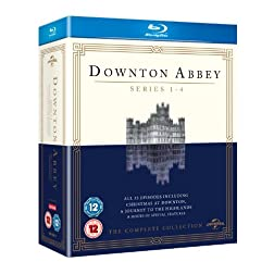 Downton Abbey-Series 1-4 [Blu-ray]