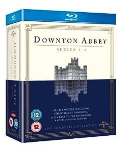 Downton Abbey - Series 1-4 [Blu-ray] [2010]