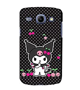 Hello Kitty 3D Hard Polycarbonate Designer Back Case Cover for Samsung Galaxy Core I8260 :: Samsung Galaxy Core I8262 Duos