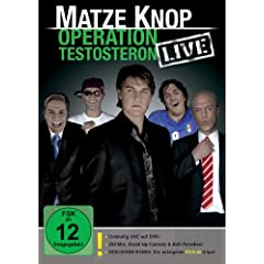dvd Matze Knop - Operation Testosteron - LIVE