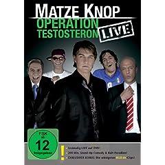 dvd Matze Knop - Operation Testosteron - LIVE