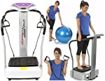 3900W Peak Power Silent Drive Motor 2015 Edition Gym Master Crazy Fit Vibration Plate - 160 Speed - Semi Commercial Use 150kg User Weight