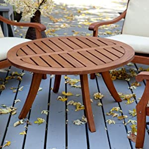 Belham Living Belham Living Arbor Outdoor Chat Table, Wood from Vendor Development Group Inc