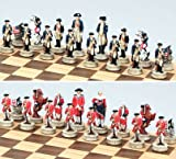 Revolutionary War Theme Chess Set