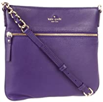 Hot Sale Kate Spade New York Cobble Hill-Ellen  Cross Body,Dark African Violet,One Size