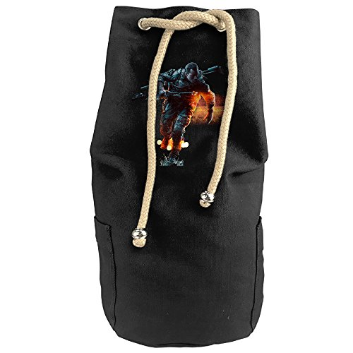KIM Battlefield Drawstring Backpack Sack Bag (Battlefield Bad Company 2 Ps4 compare prices)