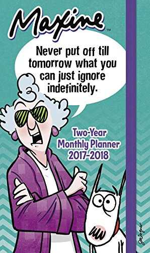 MAXINE Pocket Planner 2 Year (2017)