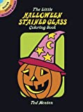 img - for The Little Halloween Stained Glass Coloring Book (Dover Stained Glass Coloring Book) book / textbook / text book
