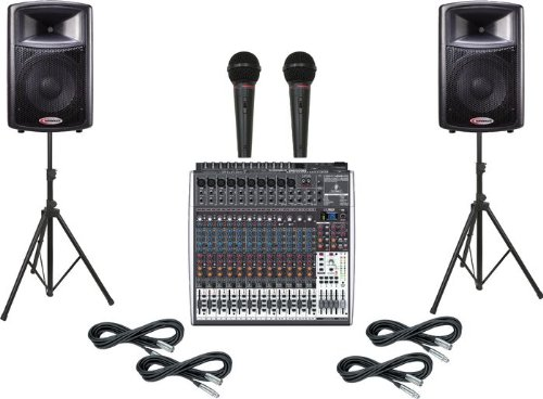 Behringer Xenyx X2442USB / Harbinger APS12 PA Package