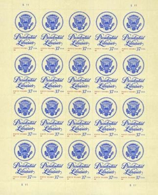 Presidential Libraries 50 Years 20 x 37 Cent U.S. Stamp