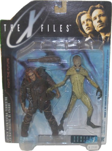 The X Files - Attack Alien Figure by McFarlane Toys