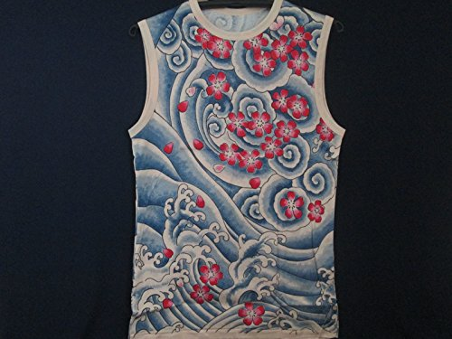Floral Tatoo Design Sleeveless Shirt Cool and Comfortable - 1