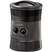 Honeywell Manual 360-Degree Surround Heater (Black)