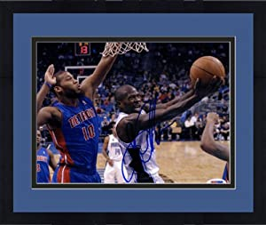 Framed Autographed Jason Richardson Orlando Magic Photo - 8x10 - PSA DNA Certified -... by Sports Memorabilia