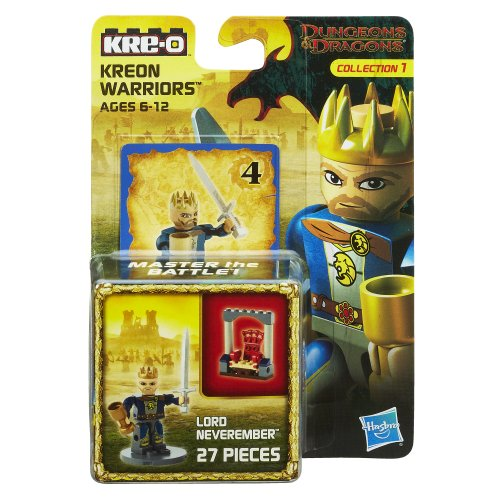 KRE-O Dungeons & Dragons Kreon Warriors Lord Neveremember Kreon Set
