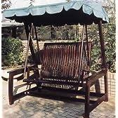 ガーデンファニチャー:デラックススイングラブベンチ