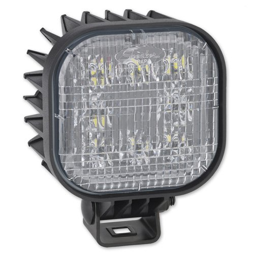"""Jw Speaker 832F-12/24V Led Work Lamp W/Harness, 1425 Effective Lumens, 12/24V Voltage, 12"""" Cord Length"""