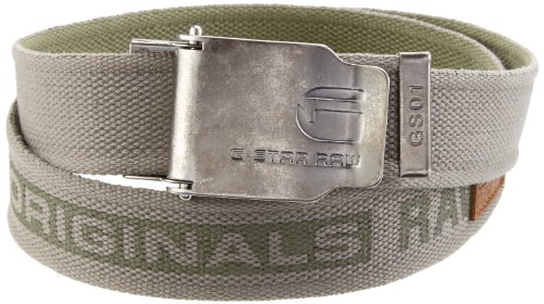 G-STAR Herren Gürtel Matt Belt - 89106A.667, Gr. one size, Grau (slab grey 3488)