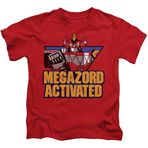 Mighty Morphin Power Rangers Megazord Activated Little Boys Shirt