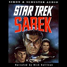Sarek: Star Trek Pocket Books, Book 69 (       UNABRIDGED) by A. C. Crispin Narrated by Nick Sullivan