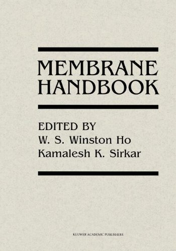 Membrane Handbook, by Winston Ho, Kamalesh Sirkar