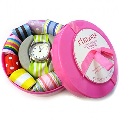 ribbon-watch-with-interchangeable-straps-pink