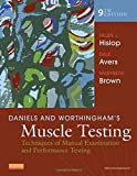 img - for Daniels and Worthingham's Muscle Testing: Techniques of Manual Examination and Performance Testing, 9e (Daniels & Worthington's Muscle Testing (Hislop)) book / textbook / text book